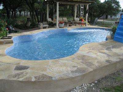 Cincinnati Pool Professionals Blue Hawaiian Fiberglass Swimming Pool Advantages From