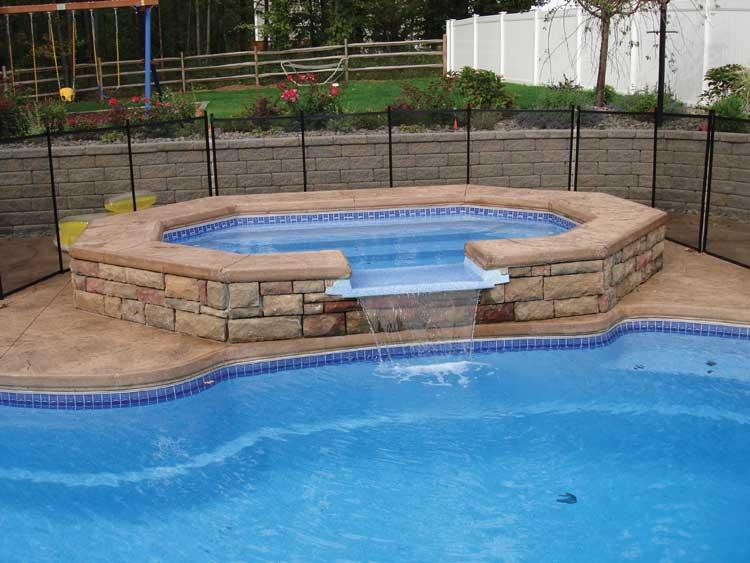 Cincinnati Pool Professionals Blue Hawaiian Fiberglass Swimming Pool Warranty From Cincinnati